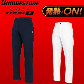 BridgestoneGolf TOUR B (ブリヂストンゴルフ ツアービー) 秋冬ウエア 電熱線入りロングパンツ 57G91K【あす楽対応】