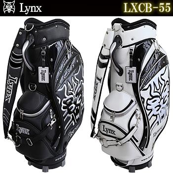 Lynx(リンクス)日本正規品 FLAGSHIP TOUR BAG (フラッグシップツアーバッグ) 2017モデル キャディバッグ 「LXCB-55」