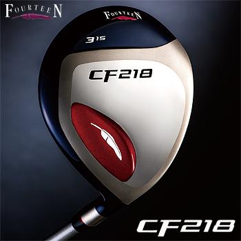 【【最大3300円OFFクーポン】】FOURTEEN(フォーティーン)日本正規品 CF218 フェアウェイウッド FT-15fカーボンシャフト