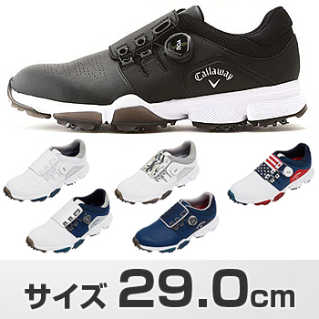 Callaway(キャロウェイ)日本正規品 HYPERCHEV BOA 18 (ハイパーシェブボア)ソフトスイクゴルフシューズ メンズ 2018モデル サイズ:29.0cm 「247-8983501」 【あす楽対応】