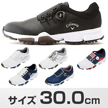 Callaway(キャロウェイ)日本正規品 HYPERCHEV BOA 18 (ハイパーシェブボア)ソフトスイクゴルフシューズ メンズ 2018モデル サイズ:30.0cm 「247-8983501」 【あす楽対応】