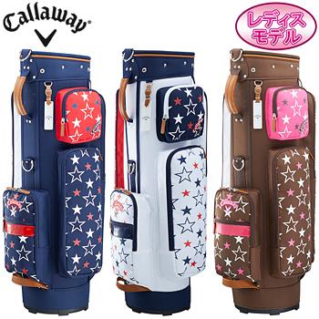 Callaway(キャロウェイ)日本正規品 Happy Women's 18JM (ハッピーウィメンズ18JM) キャディバッグ 2018新製品 レディスモデル【あす楽対応】
