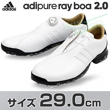 アディダスゴルフ日本正規品adipure ray Boa 2.0 (アディピュアレイボア2) ソフトスパイクゴルフシューズ 2018新製品 「WI968」 サイズ:29.0cm【あす楽対応】