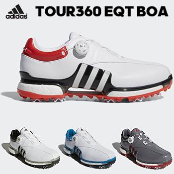 アディダスゴルフ日本正規品TOUR360 EQT Boa ソフトスパイクゴルフシューズ 2018新製品 「WI975」【あす楽対応】