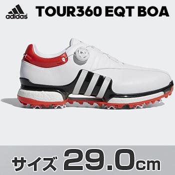 アディダスゴルフ日本正規品TOUR360 EQT Boa ソフトスパイクゴルフシューズ 2018モデル 「WI975」 サイズ:29.0cm【あす楽対応】