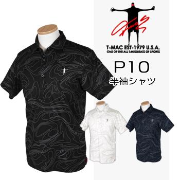 T-MAC GOLF ティーマック 2018春夏モデル 半袖シャツ P10 【あす楽対応】
