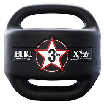 eite grips(エリートグリップ) ゴルフトレーニング器具 XYZ FITNESS REBEL BALL #03 (レベルボール3kg) 2018新製品 「XYZ-RB3BK」【あす楽対応】