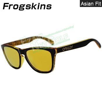 Oakly(オークリー) サングラス FROGSKINS(ASIA FIT) 24K Iridium 「OO9245」 【あす楽対応】