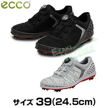 ECCO(エコー) CAGE BOA(ケージボア) メンズモデル ソフトスパイクゴルフシューズ サイズ:39 (24.5cm) 2017モデル 「132524」【あす楽対応】