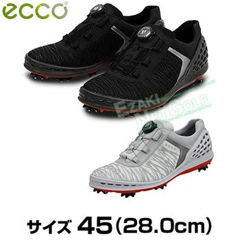 ECCO(エコー) CAGE BOA(ケージボア) メンズモデル ソフトスパイクゴルフシューズ サイズ:45 (28.0cm) 2017モデル 「132524」【あす楽対応】