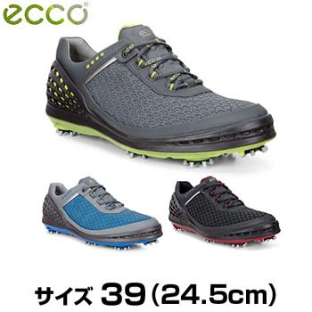 ECCO(エコー)CAGE EVO(ケイジエヴォ) 2017モデル メンズモデル ソフトスパイクゴルフシューズ サイズ:39 (24.5cm) 「132514」【あす楽対応】