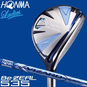 HONMA GOLF(本間ゴルフ) 日本正規品 Be ZEAL535(ビジール535) ユーティリティ 2018新製品 VIZARD for Be ZEAL Ladies カーボンシャフト レディスモデル