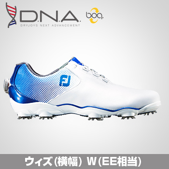 FOOTJOY(フットジョイ)日本正規品 DNA Boa(ディーエヌエーボア) ソフトスパイクゴルフシューズ 2018新製品 ウィズ:W(EE)【あす楽対応】