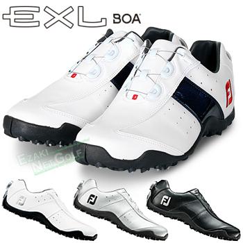 FOOTJOY(フットジョイ)日本正規品 EXL Spikeless Boa (EXLスパイクレスボア) スパイクレスゴルフシューズ 2018モデル ウィズ:W(EE)【あす楽対応】