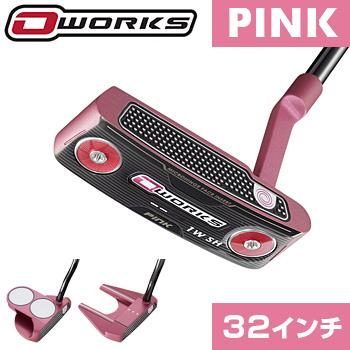 【限定品】 ODYSSEY(オデッセイ)日本正規品 O-WORKS PINK(オーワークスピンク)パター2018新製品 スーパーストロークPistol GTピンクグリップ 【あす楽対応】