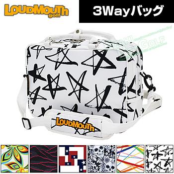 LOUDMOUTH GOLF ラウドマウス日本正規品 3Wayバッグ 2018新製品 「LM-BP0001」【あす楽対応】