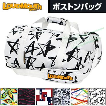 【3月30日 20時~4h限定10倍】LOUDMOUTH GOLF ラウドマウス日本正規品 ボストンバッグ 2018モデル 「LM-BB0003」【あす楽対応】