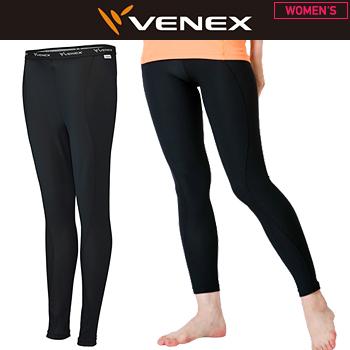 VENEX(ベネクス)日本正規品 FREE FEEL COOL (フリーフィールクール) ロングタイツ レディース 2018新製品 「6624」