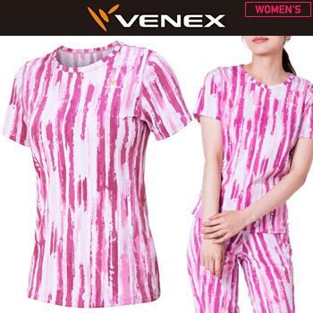 VENEX(ベネクス)日本正規品 STANDARD DRY (スタンダードドライ) ショートスリーブシャツ レディース 「6540」