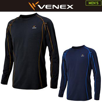 上等な VENEX(ベネクス)日本正規品 「6431」 RECHARGE+(リチャージプラス) 2018新製品 メンズ ロングスリーブシャツ メンズ 2018新製品 「6431」, 大月市:43710867 --- canoncity.azurewebsites.net