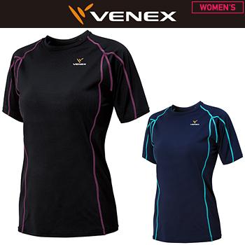 VENEX(ベネクス)日本正規品 RECHARGE+(リチャージプラス) ショートスリーブシャツ レディース 2018新製品 「6434」