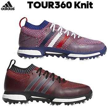 【新色追加】 アディダスゴルフ日本正規品TOUR360 Knit (ツアー360ニット) ソフトスパイクゴルフシューズ 2018モデル 「WI976」【あす楽対応】