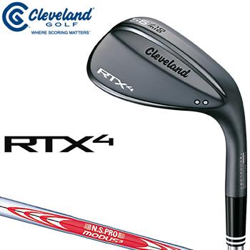 クリーブランドゴルフ日本正規品 RTX4 ウェッジ ブラックサテン仕上げ NSPRO MODUS3 TOUR120スチールシャフト 2018モデル 「RTX4BBSMWG」 【あす楽対応】
