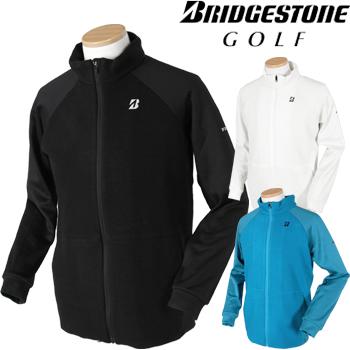 BridgestoneGolfブリヂストンゴルフウエア 2018秋冬モデル 長袖前開きトレーナー KGM02B ビッグサイズ(3L) 【あす楽対応】