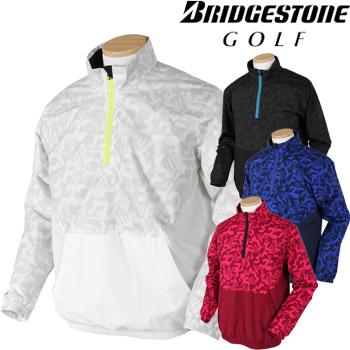 BridgestoneGolfブリヂストンゴルフウエア 2018秋冬モデル 長袖ハーフジップブルゾン KGM02D ビッグサイズ(3L) 【あす楽対応】
