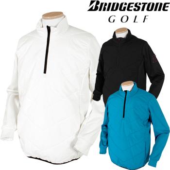 BridgestoneGolfブリヂストンゴルフウエア 2018秋冬モデル 長袖中綿ハーフジップブルゾン 6GK01D 【あす楽対応】