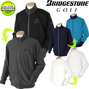 BridgestoneGolf ブリヂストンゴルフ TOUR B 秋冬ウエア リバーシブル長袖前開きブルゾン KGM01D ビッグサイズ(3L) 【あす楽対応】
