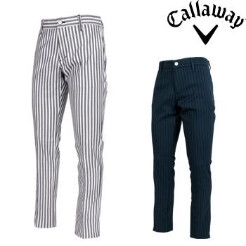 Callaway GOLF キャロウェイゴルフ 2018秋冬モデル テーパードパンツ 241-8220513 ビッグサイズ(3L)(XL) 【あす楽対応】