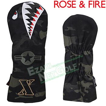 再再販! ROSE & FIRE FIRE ローズアンドファイア日本正規品 シャークカモ フェアウェイウッド用ヘッドカバー(X) 2018モデル 「RFX014」【あす楽対応 &】, FIVE HUNDRED WORKS.:45bb23ea --- jf-belver.pt