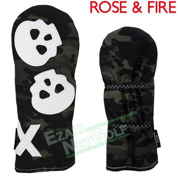 ROSE & FIRE ローズアンドファイア日本正規品 ダンシングスカル フェアウェイウッド用ヘッドカバー(X) 2018モデル 「RFX012」【あす楽対応】