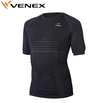 【3月30日 20時~4h限定10倍】VENEX(ベネクス)Recharge Pro(リチャージプロ)ショートスリーブ メンズ(6420)アンダーウエア