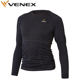 【3月30日 20時~4h限定10倍】VENEX(ベネクス)Recharge Pro(リチャージプロ)ロングスリーブ メンズ(6421)アンダーウエア