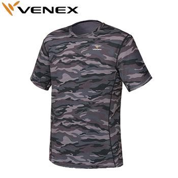 【【最大3000円OFFクーポン】】VENEX(ベネクス)Standard(スタンダード)ドライショートスリーブシャツ メンズ(6521)