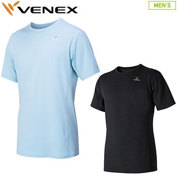 【【最大3000円OFFクーポン】】VENEX(ベネクス)日本正規品 STANDARD DRY (スタンダードドライ) ショートスリーブシャツ メンズ 「6520」