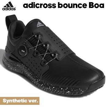 【【最大3000円OFFクーポン】】【新色追加】 adidas Golf(アディダスゴルフ) 日本正規品 adicross bounce Boa (アディクロスバウンスボア) Synthetic ver. スパイクレスゴルフシューズ 2018モデル 「WI967」【あす楽対応】