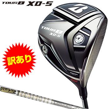 【訳あり特注品】ブリヂストンゴルフ日本正規品 TOUR B XD-5 ドライバー TourAD TP-6カーボンシャフト 2017モデル【あす楽対応】