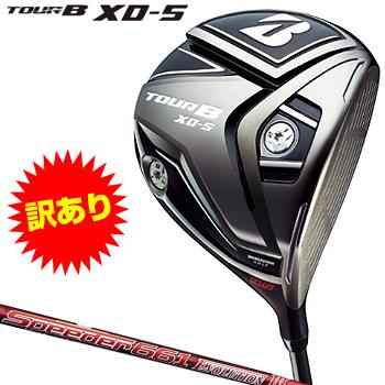 【訳あり特注品】ブリヂストンゴルフ日本正規品 TOUR B XD-5 ドライバー Speeder661 EVOLUTION3カーボンシャフト 2017モデル【あす楽対応】