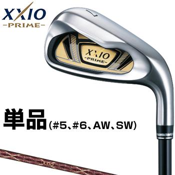 ダンロップ日本正規品 XXIO PRIME(ゼクシオプライム)アイアン 2019新製品 オリジナルSP-1000カーボンシャフト 単品(#5、#6、AW、SW)