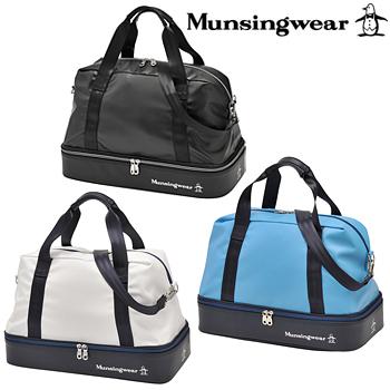 Munsingwear マンシングウエア日本正規品 二層式ボストンバッグ 2019新製品「MQBNJA06」【あす楽対応】