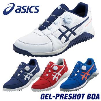 ASICS(アシックス) GEL-PRESHOT BOA ゲルプレショット ボア ソフトスパイク ゴルフシューズ 2019新製品 「1113A003」 【あす楽対応】