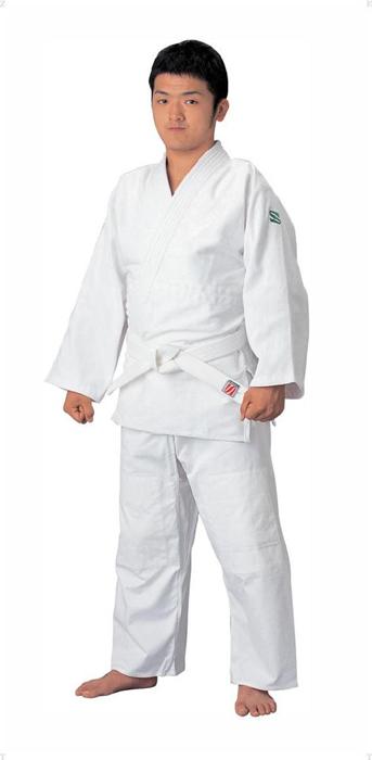九桜 標準サイズ用大和錦柔道衣 セット ホワイト hys-jsys1