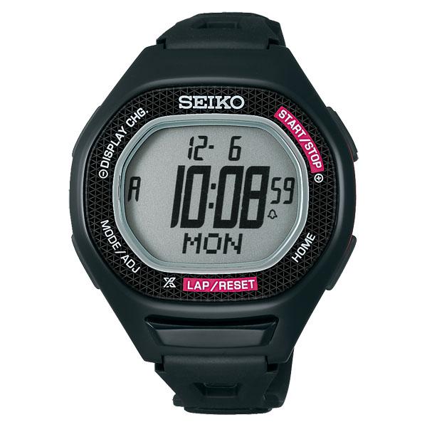 SEIKO 店内全品対象 セイコー スーパーランナーズ S611 スポーツショップ限定カラー 発売モデル ブラック×ピンク