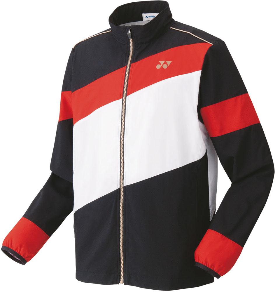 Yonex(ヨネックス) ユニセックス 裏地付ウィンドウォーマーシャツ(フィットスタイル) サンセットレッド