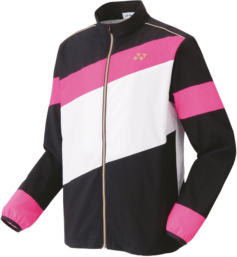 Yonex(ヨネックス) ユニセックス 裏地付ウィンドウォーマーシャツ(フィットスタイル) ネオンピンク
