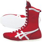 アシックス ボクシングMS レッド×ホワイト tbx704-2301