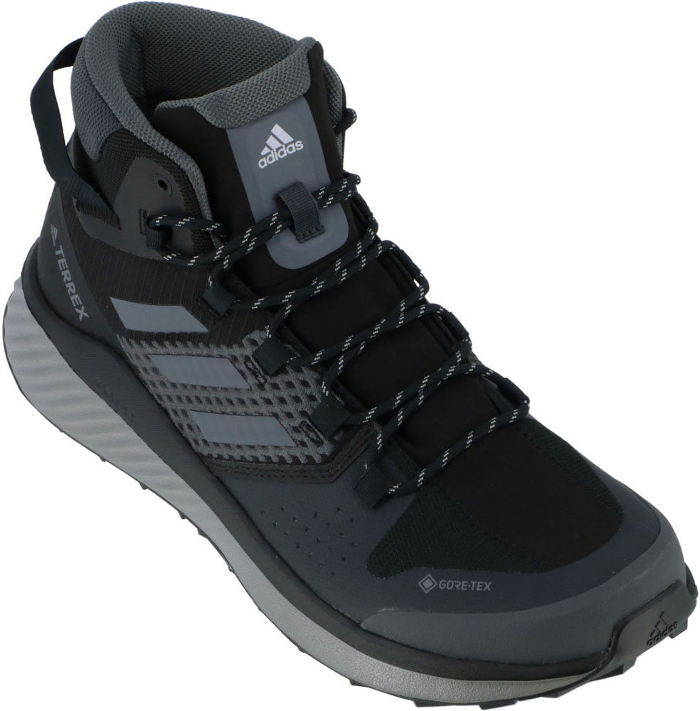 adidas(アディダス) TERREX FOLGIAN HIKER MID GTX コアBLK/GRYスリー
